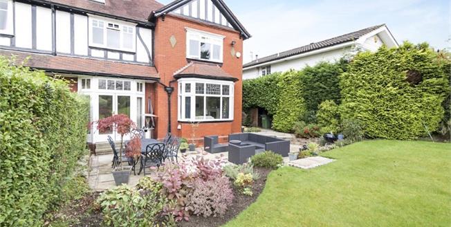 Asking Price £750,000, 5 Bedroom Semi Detached House For Sale in Marple Bridge, SK6