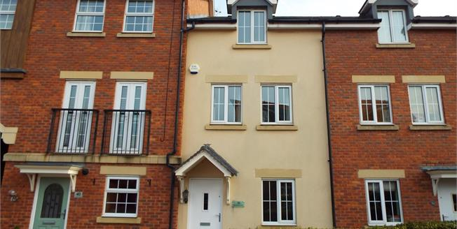 Guide Price £195,000, 4 Bedroom Terraced House For Sale in Weston, CW2