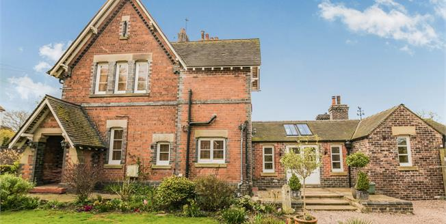 Guide Price £430,000, 3 Bedroom Semi Detached House For Sale in Crewe, CW3