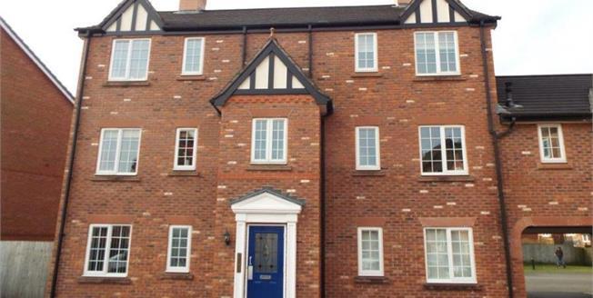 £47,500, 1 Bedroom Upper Floor Flat For Sale in Nantwich, CW5