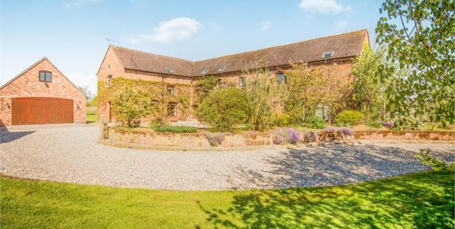 £795,000, 3 Bedroom Detached House For Sale in Sound, CW5