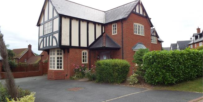 Guide Price £425,000, 5 Bedroom Detached House For Sale in Weston, CW2