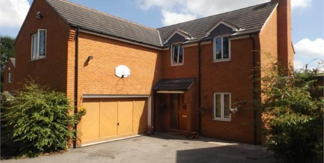 Offers Over £365,000, 5 Bedroom Detached House For Sale in Barbridge, CW5