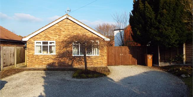 Guide Price £220,000, 2 Bedroom Detached Bungalow For Sale in Willaston, CW5