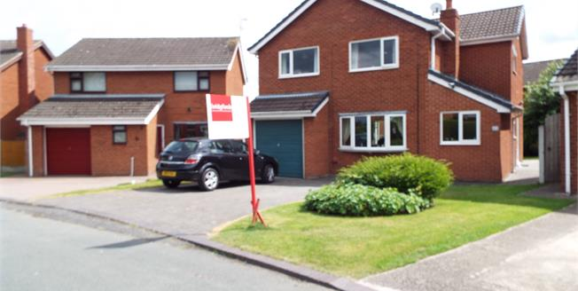 Guide Price £245,000, 4 Bedroom Detached House For Sale in Wrenbury, CW5