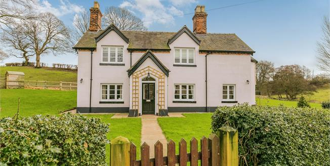 Guide Price £995,000, 4 Bedroom Detached House For Sale in Englesea Brook, CW2
