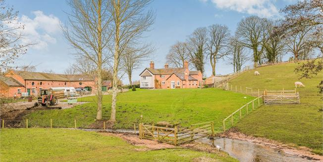 Guide Price £1,200,000, 4 Bedroom Detached House For Sale in Englesea Brook, CW2