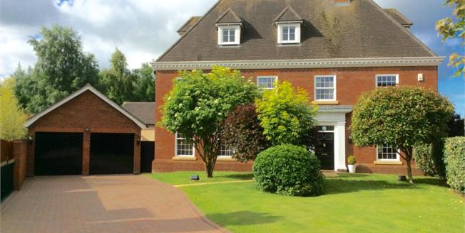 Guide Price £700,000, 5 Bedroom Detached House For Sale in Weston, CW2