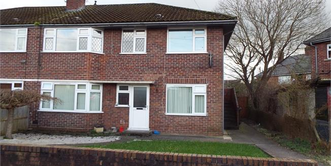 Offers Over £100,000, 2 Bedroom Flat For Sale in Nantwich, CW5
