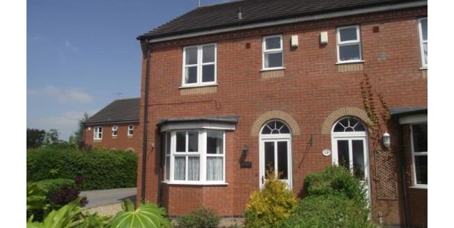 Guide Price £179,950, 3 Bedroom End of Terrace House For Sale in Nantwich, CW5