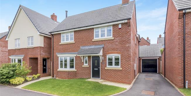 Guide Price £289,950, 4 Bedroom Detached House For Sale in Woore, CW3