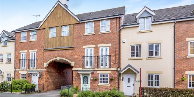 Guide Price £220,000, 4 Bedroom Terraced House For Sale in Weston, CW2