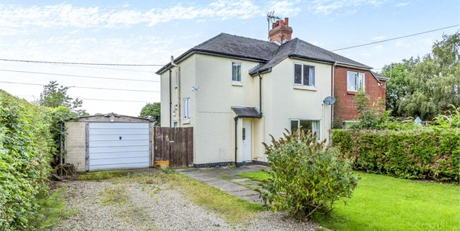 Offers Over £200,000, 3 Bedroom Semi Detached House For Sale in Blakenhall, CW5