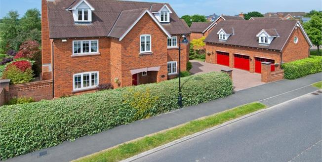 Guide Price £550,000, 5 Bedroom Detached House For Sale in Weston, CW2