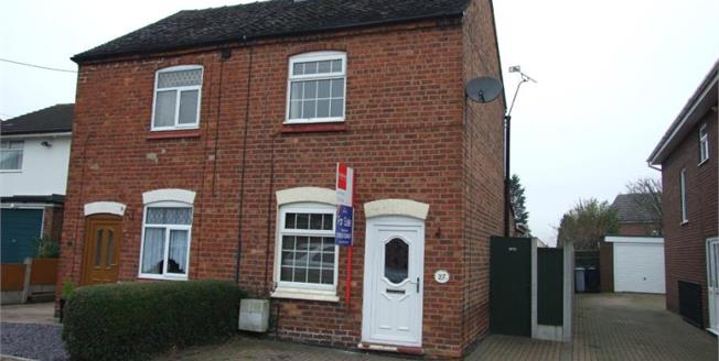 Offers in the region of £134,950, 2 Bedroom Semi Detached House For Sale in Shavington, CW2