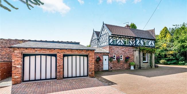 Asking Price £550,000, 4 Bedroom For Sale in Butterton, ST5