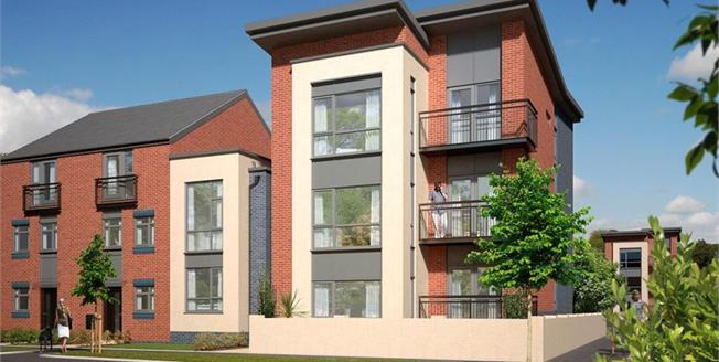 £129,995, 2 Bedroom Flat For Sale in Staffordshire, ST1