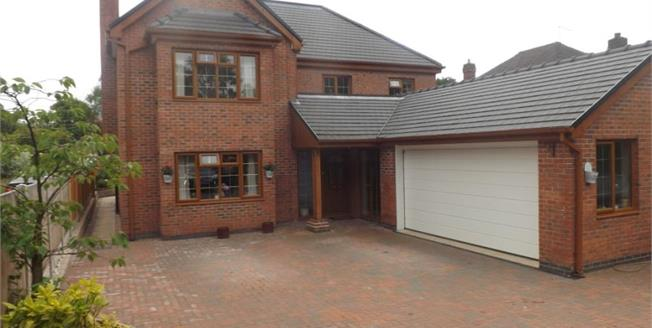 Offers Over £465,000, 4 Bedroom Detached House For Sale in Rough Close, ST3