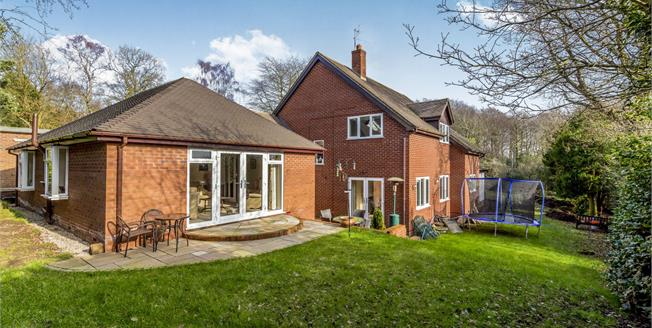 Offers Over £480,000, 4 Bedroom Detached House For Sale in Whitmore, ST5