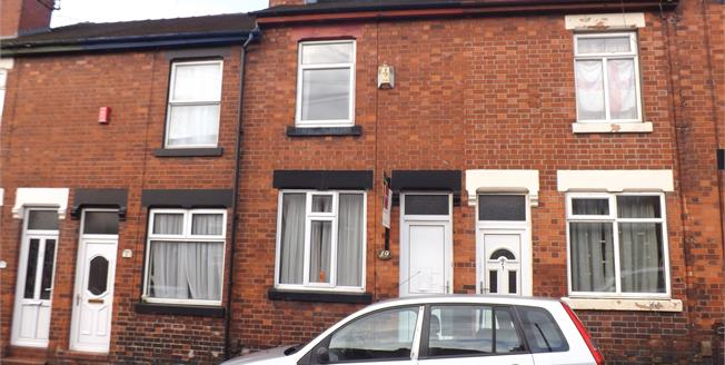 Asking Price £65,000, 2 Bedroom Terraced House For Sale in Stoke-on-Trent, ST4