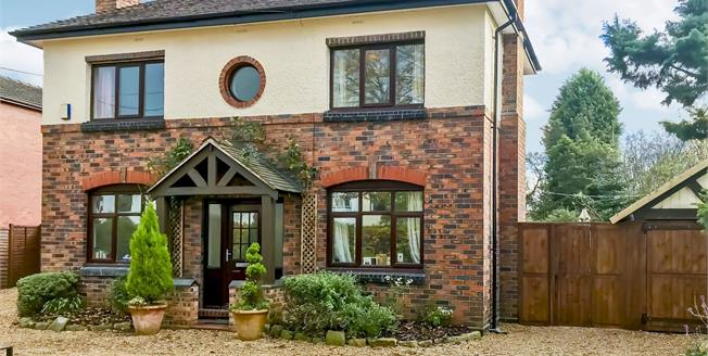 Asking Price £285,000, 4 Bedroom Detached House For Sale in Stoke-on-Trent, ST3