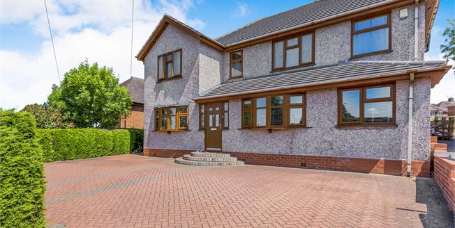 Guide Price £400,000, 5 Bedroom Detached House For Sale in Stoke-on-Trent, ST3