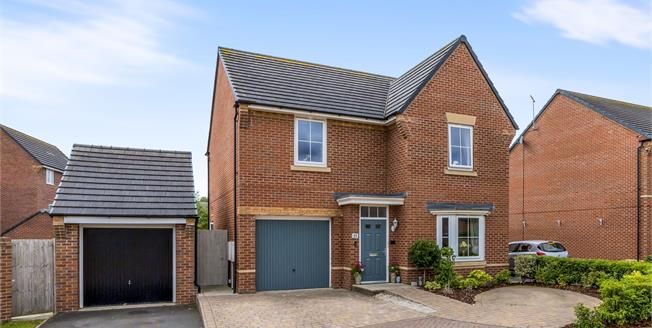 Offers Over £299,950, 4 Bedroom Detached House For Sale in Silverdale, ST5