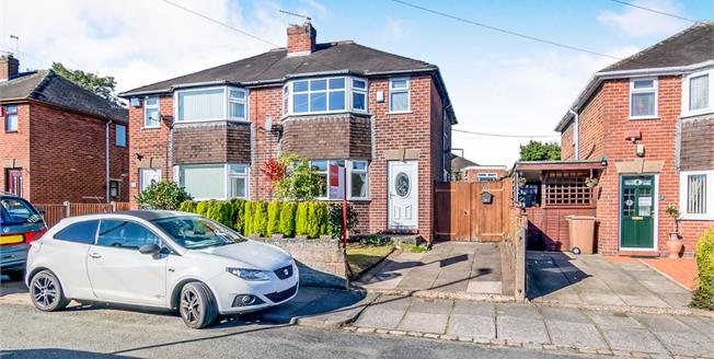 Offers Over £100,000, 2 Bedroom Semi Detached House For Sale in Stoke-on-Trent, ST6