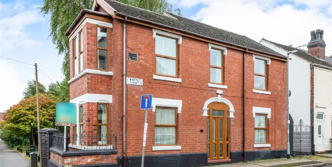 Asking Price £145,000, 3 Bedroom Detached House For Sale in Stoke-on-Trent, ST1