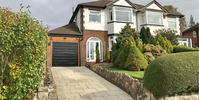 Guide Price £240,000, 3 Bedroom Semi Detached House For Sale in Newcastle, ST5