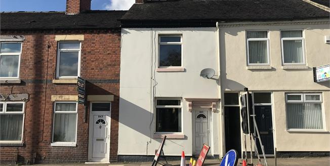 Asking Price £60,000, 2 Bedroom Terraced House For Sale in Stoke-on-Trent, ST4