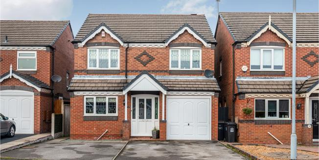 Offers in the region of £230,000, 4 Bedroom Detached House For Sale in Newcastle, ST5