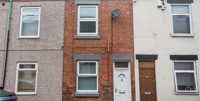 Guide Price £110,000, 2 Bedroom Terraced House For Sale in Newcastle, ST5