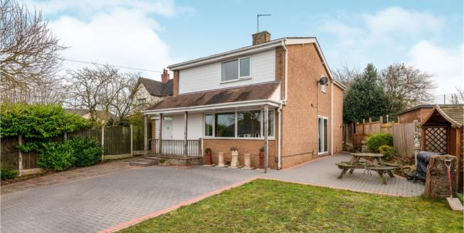 Guide Price £350,000, 4 Bedroom Detached House For Sale in Stoke-on-Trent, ST4