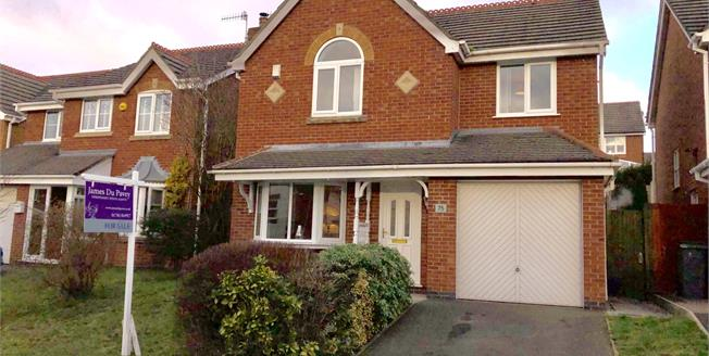 Guide Price £229,950, 4 Bedroom Detached House For Sale in Stoke-on-Trent, ST3