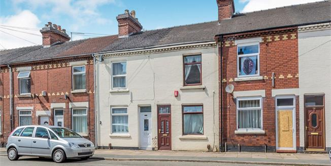 Guide Price £77,500, 3 Bedroom Terraced House For Sale in Stoke-on-Trent, ST4