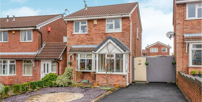 Guide Price £170,000, 3 Bedroom Detached House For Sale in Newcastle, ST5
