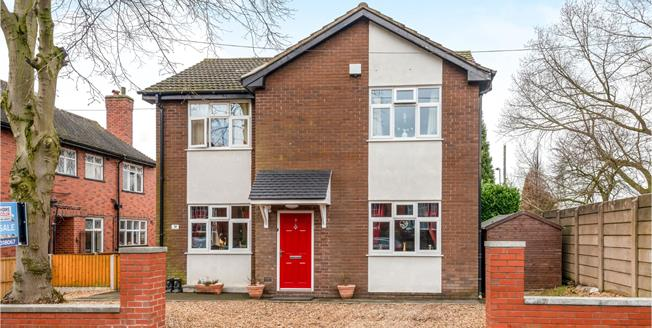 Offers Over £225,000, 4 Bedroom Detached House For Sale in Stoke-on-Trent, ST4