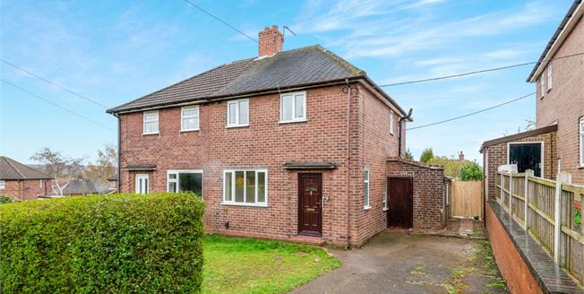Guide Price £115,000, 2 Bedroom Semi Detached House For Sale in Newcastle, ST5