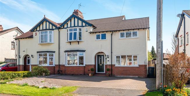 Guide Price £285,000, 4 Bedroom Semi Detached House For Sale in Newcastle, ST5