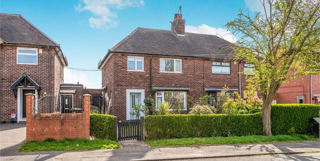 Guide Price £130,000, 3 Bedroom Semi Detached House For Sale in Newcastle, ST5