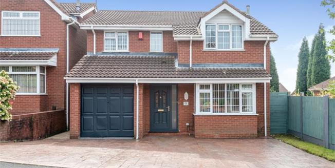 £235,000, 4 Bedroom Detached House For Sale in Newcastle, ST5
