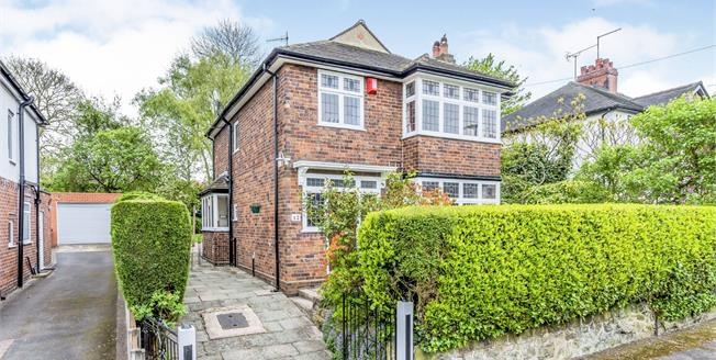 Guide Price £270,000, 3 Bedroom Detached House For Sale in Newcastle, ST5