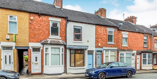 Offers Over £80,000, 2 Bedroom Terraced House For Sale in Stoke-on-Trent, ST4