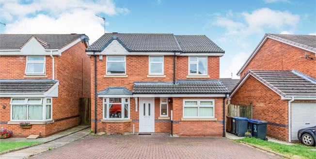 Guide Price £275,000, 3 Bedroom Detached House For Sale in Cheadle, ST10