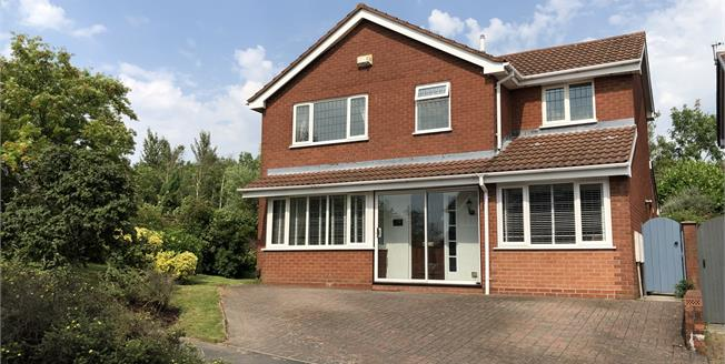 Offers in excess of £240,000, 4 Bedroom Detached House For Sale in Newcastle, ST5