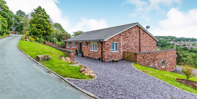 Guide Price £720,000, 3 Bedroom Detached Bungalow For Sale in Stockton Brook, ST9