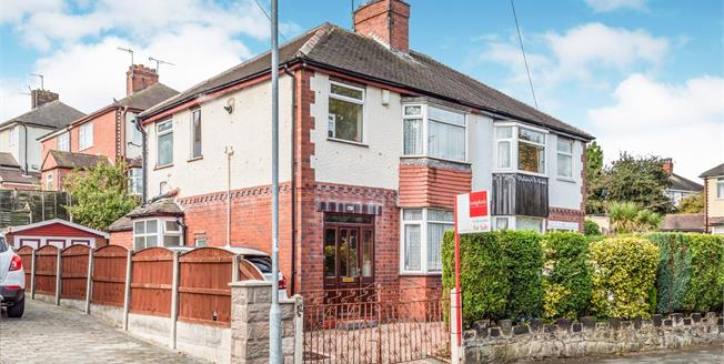 Guide Price £140,000, 3 Bedroom Semi Detached House For Sale in Stoke-on-Trent, ST6