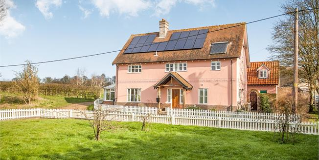 Guide Price £650,000, 5 Bedroom Detached House For Sale in Chelsworth, IP7