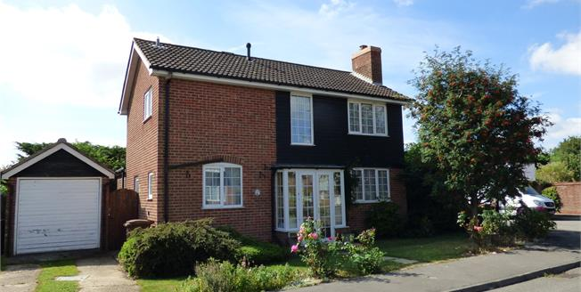 Asking Price £325,000, 3 Bedroom Detached House For Sale in Capel St. Mary, IP9